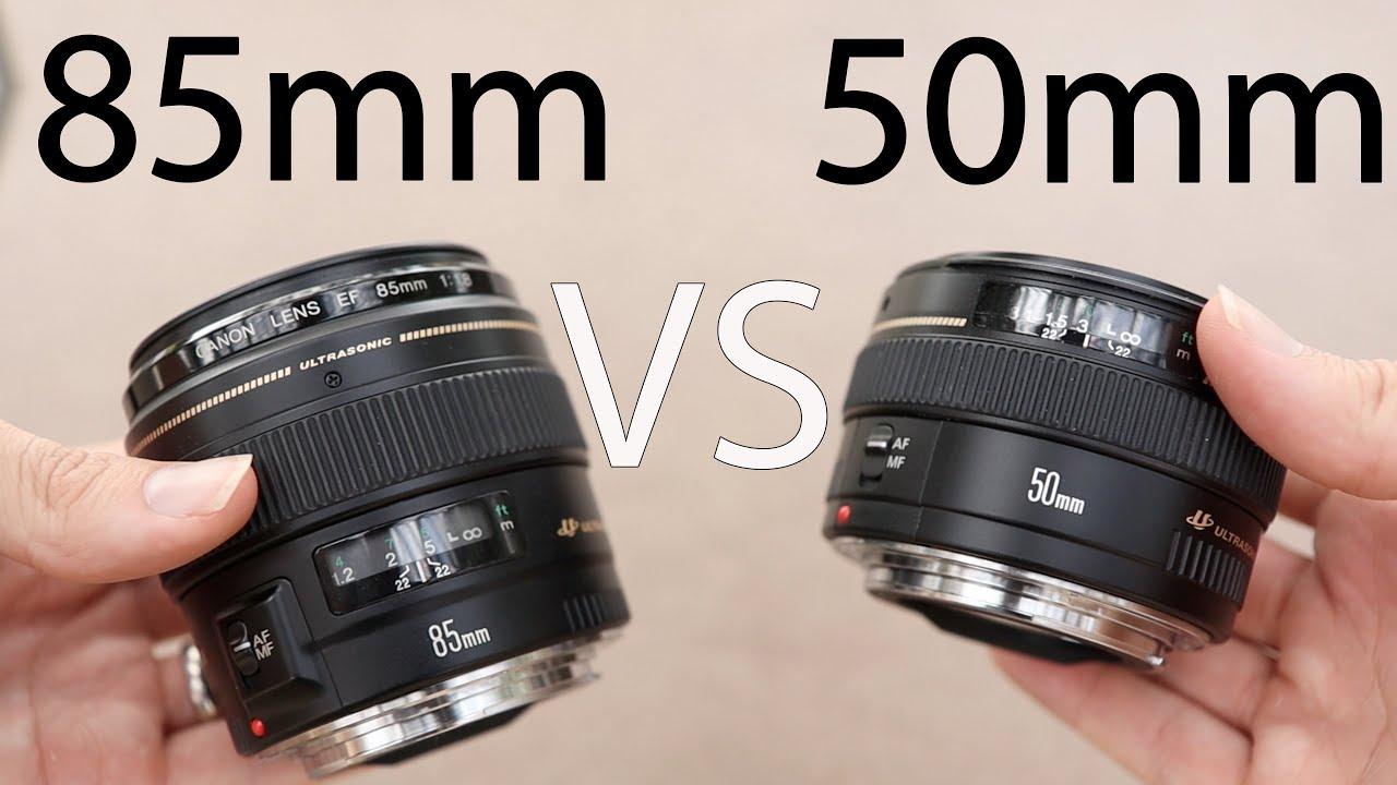 Canon 50mm f1 4 vs Canon 85mm f1 8 Best Portrait Lens?
