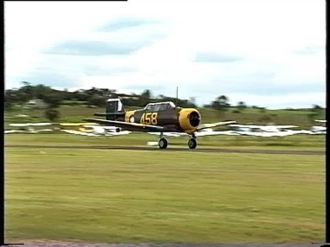 CAC CA-16 Wirraway Australian Fighter / Trainer Air Display recorded 1998 at Maitland, NSW Australia