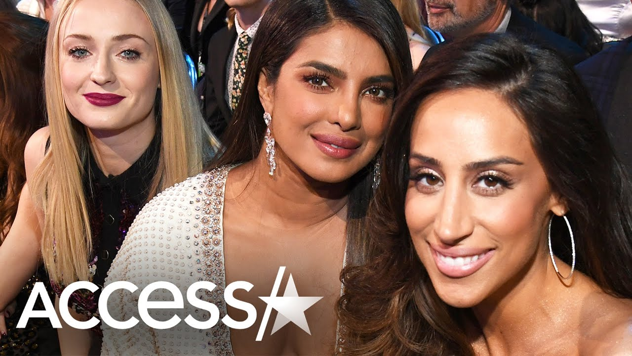 Priyanka Chopra, Sophie Turner And Danielle Jonas Jam Out To Jonas Brothers' Grammy Performance