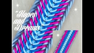 """Hopes and Dreams""  Hook Only bracelet/ How To Tutorial"
