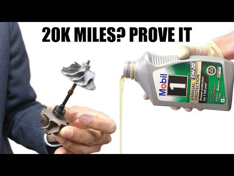 Can Engine Oil Be Proven To Last 20,000 Miles?