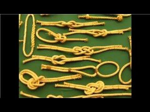 Como hacer nudos marinos youtube - Nudos marineros decorativos ...