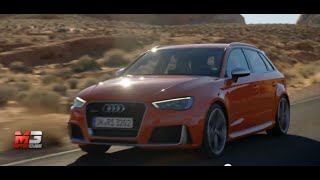 New audi rs 3 sportback 2015 - first test drive only sound
