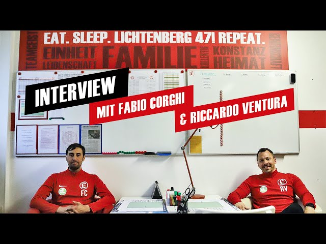 Regionalligateam: Interview mit Fabio Corghi und Riccardo Ventura