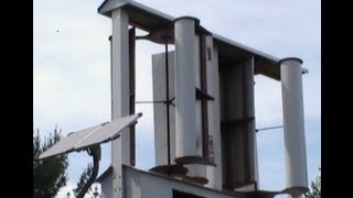 How To Make A Vertical Axis Wind Turbine: Part 1