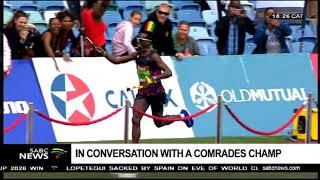 In conversation with 2018 Comrades Champ Bongumusa Mthembu
