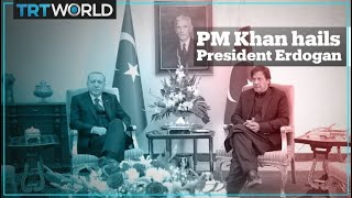 Pakistani PM Imran Khan hails Turkey's President Erdogan