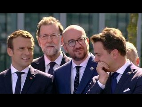 Surprising to see NATO world leaders snicker at Trump?