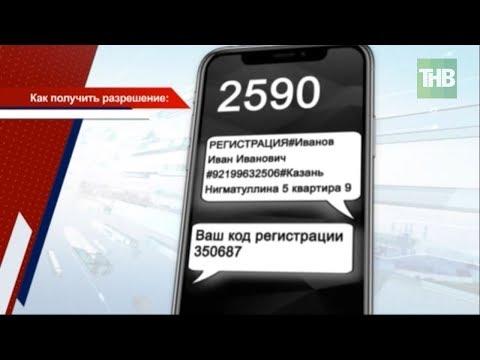 В Татарстане определили порядок получения разрешения на передвижения 😷 ТНВ