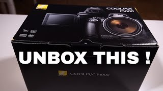 Video Nikon P1000 Unboxing - First Look and comparison with a DSLR download MP3, 3GP, MP4, WEBM, AVI, FLV November 2018