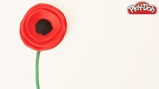 Play Doh Remembrance Poppy Armistice Day Poppy Day Veterans Day