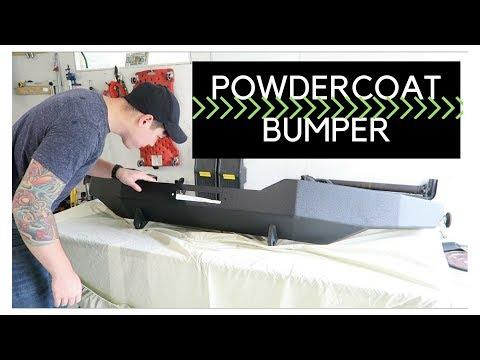 Powder-coating a custom winch bumper (AE#3)