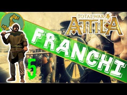 INVASIONE DELLA BRITANNIA - Attila Total War - Gameplay ITA - Franchi - #5
