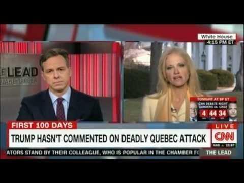 Kellyanne  Conway battles with CNN