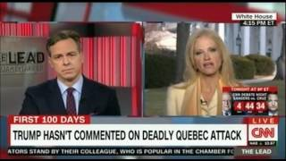 Kellyanne  Conway battles with CNN