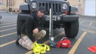 Winching with the Hi-Lift Jack and Off Road Recovery Kit