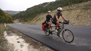 Tandem Bicycle Touring Macedonia & Greece