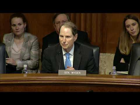 Wyden Questions Energy Secretary Nominee Dan Brouillette