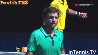Novak Djokovic vs Gilles Simon Highlights ᴴᴰ Australian Open 2016