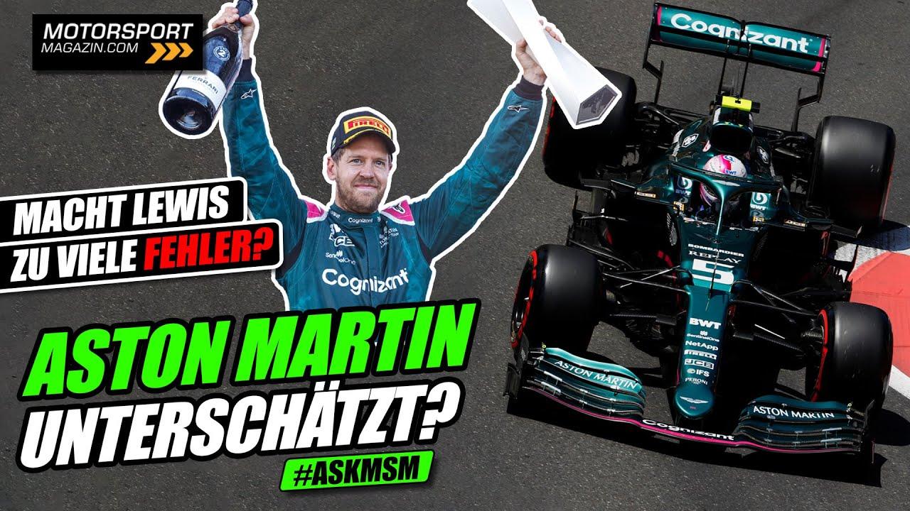 Wurde Vettels Aston Martin bislang unterschätzt? | Formel 1 2021