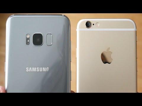Galaxy S8 Plus vs iPhone 6! - Speed Test