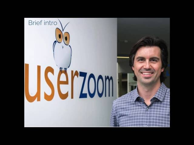 Alfonso de la Nuez: The Future of Usability Testing and UX Research, an Executive Perspective