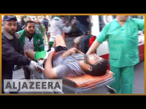 🇵🇸 Videos from Gaza show Israeli snipers shoot fleeing protesters | Al Jazeera English