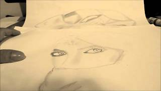 Drawing Arabic Girl