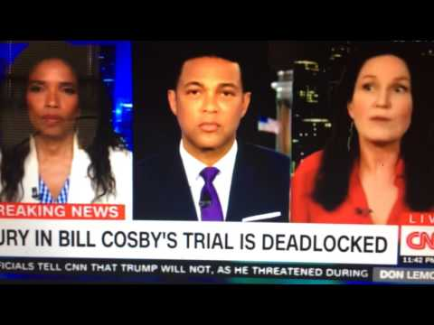 CNN: Stupid feminist says men on Bill Cosby rape trial Jury might be rapist themselves.