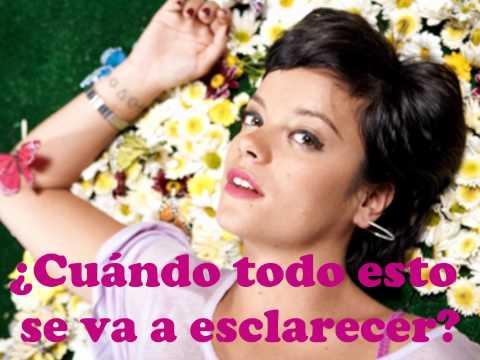 Lily Allen - The Fear [Traducida]