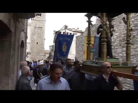 Gambatesa 14-06-2015 Festività di Sant'Antonio: processione