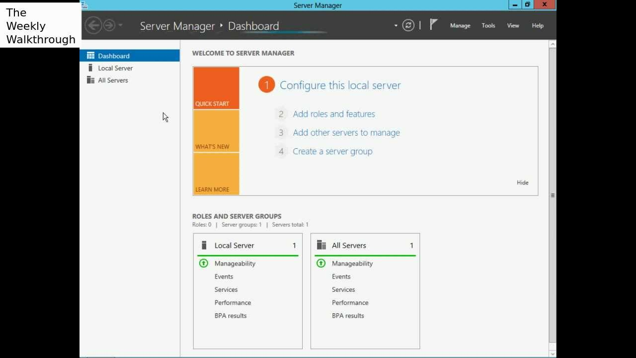 Windows Server 2012 - Enable SMB and NFS sharing