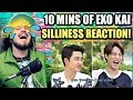 10 MINUTES OF EXO KAI'S SILLINESS   HIS LAUGH IS EVERYTHING!   REACTION!!