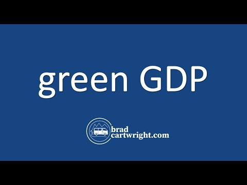 Fundamentals of Macroeconomics Series:  Green GDP