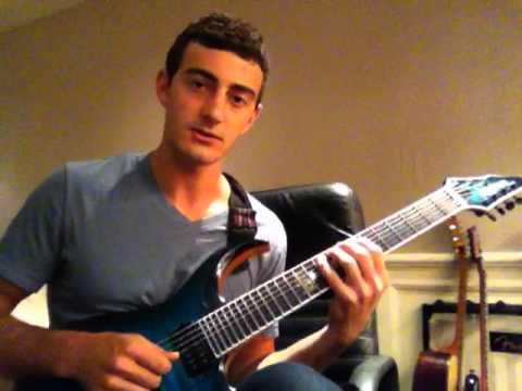 Tosin Abasi Style Slap/Thumb Guitar Lesson