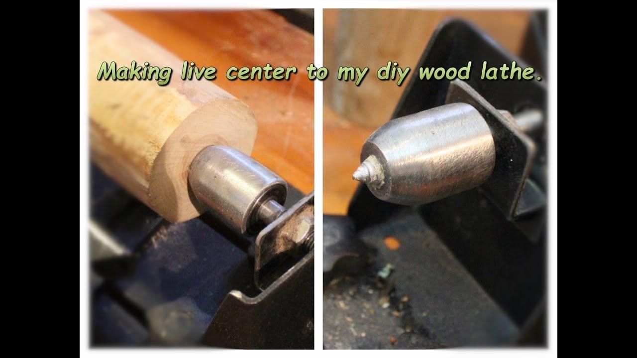 Making Wood Lathe Live Center Youtube