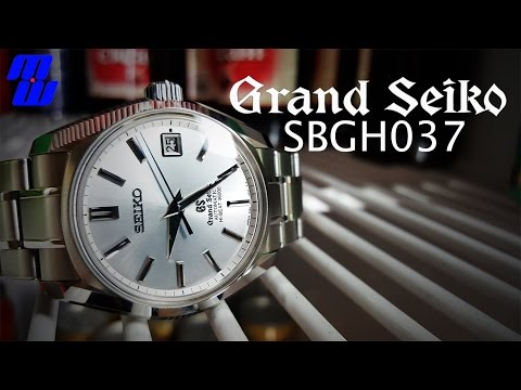 Grand Seiko 55th Anniversary  SBGH037 - Regular Guy Review