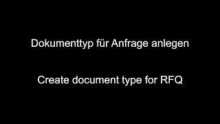 TEKLİF talebi SAP MM - Oluşturmak belge türü