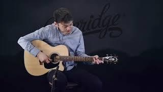 Blueridge BR-63CE Contemporary Series Cutaway Acoustic-Electric 000 Guitar Demo