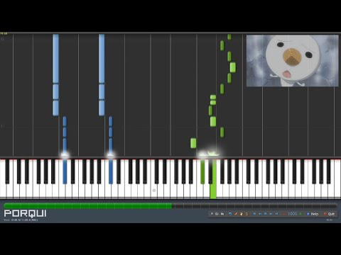 Fairy Tail Opening 1 - Snow Fairy (Piano Synthesia)