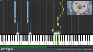 Repeat youtube video Fairy Tail Opening 1 - Snow Fairy (Synthesia)