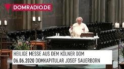 Katholischer Gottesdienst live aus dem Kölner Dom am 06.06.2020 Domkapitular Josef Sauerborn