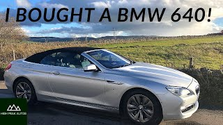 I BOUGHT A BMW 640i... (AS MY NEW DAILY DRIVER) Test Drive and Review
