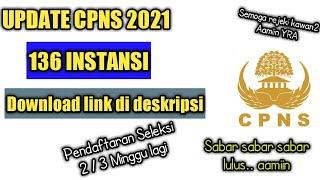 Formasi Cpns 2021 Update 5 Juni 2021