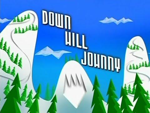 Johnny Test , Down Hill Johnny!!! Rare Classic ski episode!!!