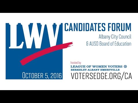 Albany City Council & AUSD Board of Education Candidates Forum