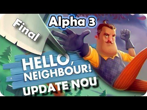 Hello Neighbour ALPHA 3 E AICI! - Am Deschis Usa #2