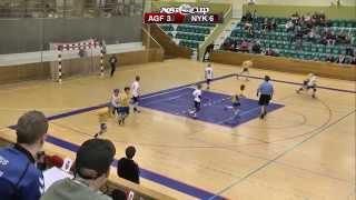 SPS Håndbold: AGF CUP 2014 - U10 Drenge - A-Finale - Nykøbing F. Vs. AGF 1
