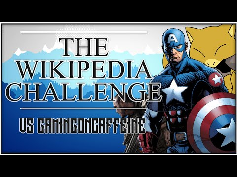 CAPTAIN AMERICA TO SOAP!? - Wikipedia Challenge w/GamingOnCaffeine