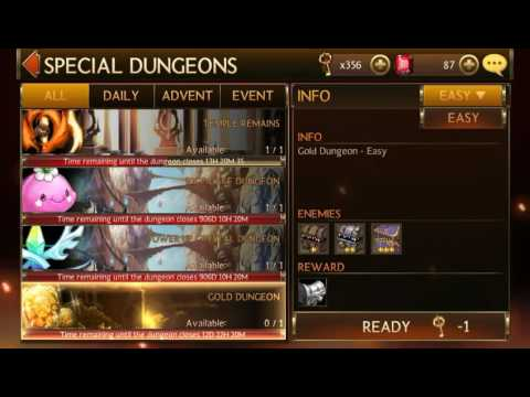 Seven Knights - Gold ore Dungeon (New!) + How to beat it!